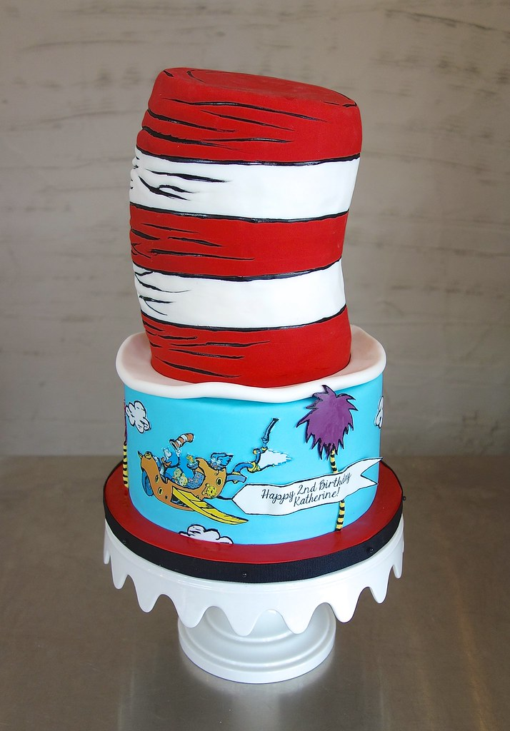 Stupendous Dr Seuss Birthday Cake Sasa Flickr Funny Birthday Cards Online Sheoxdamsfinfo