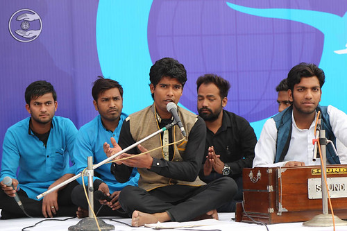 Welcome song by Ram Sharan and Saathi from Amritsar