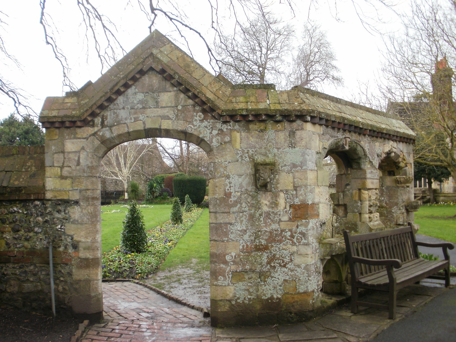 Southover Gardens archway OLYMPUS DIGITAL CAMERA