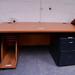 Ex demo cherry laminate desk