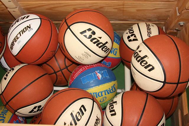 Basketbal clinic St.Antonius school