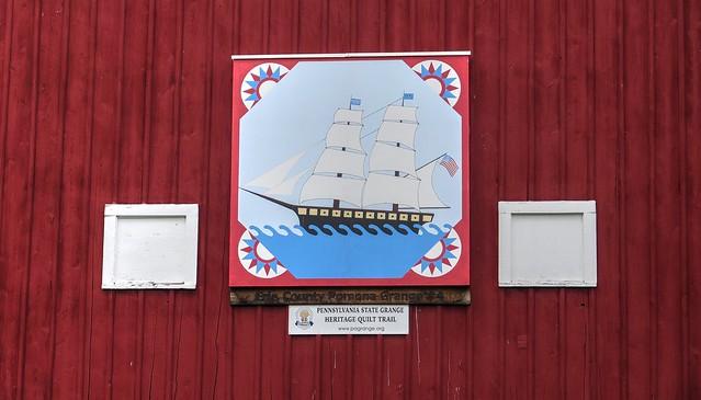 Erie County Pomona Grange #4 Barn Quilt