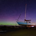 Boat and Aurora