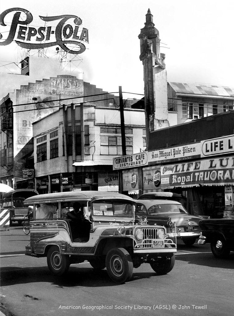 Manila, Philippines, 1952-1953