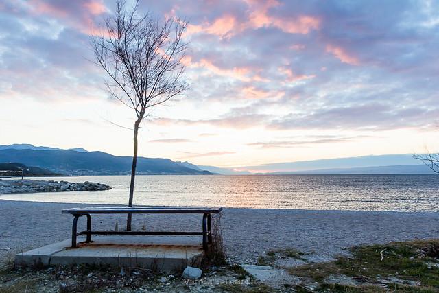 Sunrise in Split