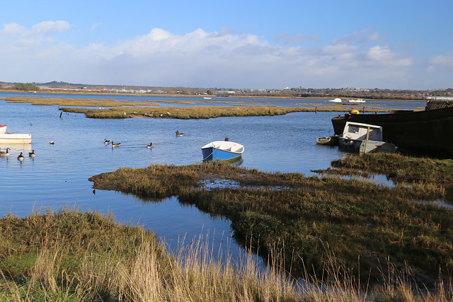Poole Harbour from Hamworthy