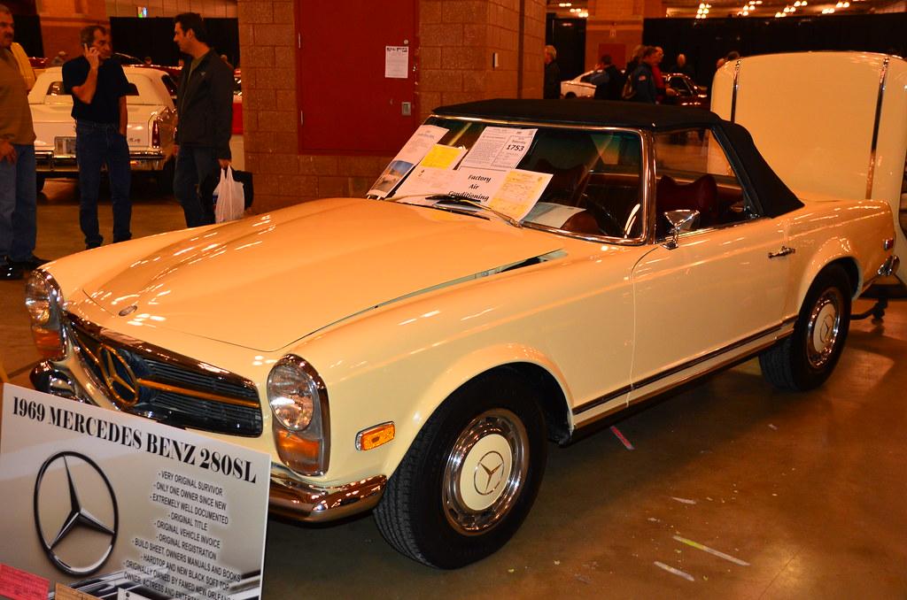 Chris Owens' 1969 Mercedes Benz 280SL - Atlantic City Car ...