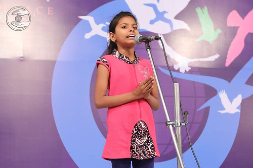 Baby Chetna from Najibabad expresses her views