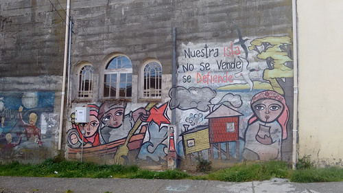 Murals in Ancud, Chiloé, Chile | by blueskylimit