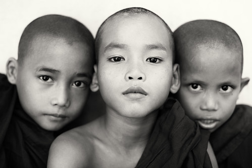 Buddhist novices, Myanmar (Burma) | by Dietmar Temps