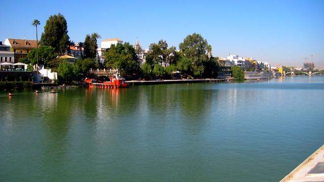 Siviglia e il Guadalquivir