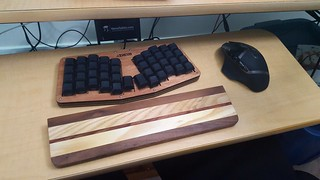Atreus with Matias tactile switches. Very fun build | by almightyglod