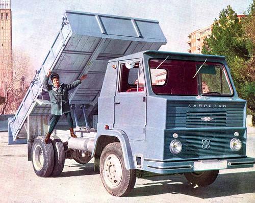 Camió Nazar: presentació oficial l'any 1963 a Saragossa