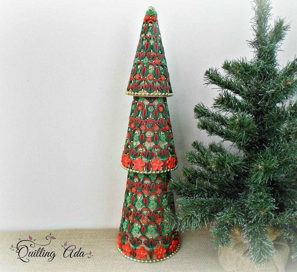 Quilling Christmas Tree Ada Urucu Flickr