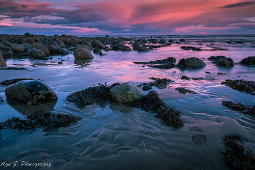 sunset nature water clouds amazing colours stones prints 24mm simga louthireland canon5dmark3 rathcorbeach