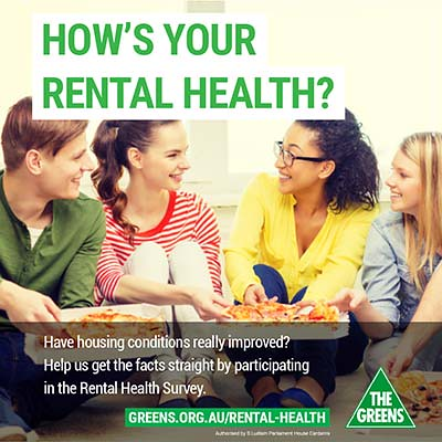 Rental Health - thumb | by Greens MPs