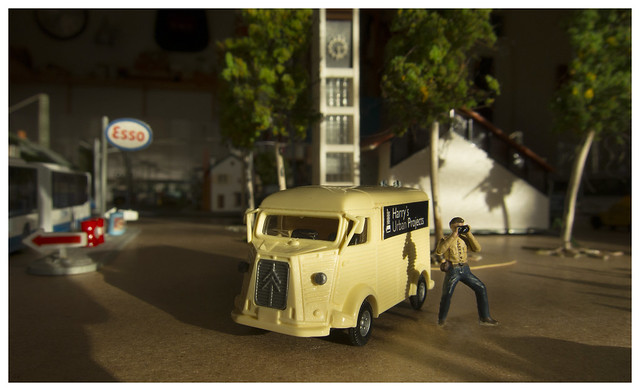 Harry and his Citroen HY