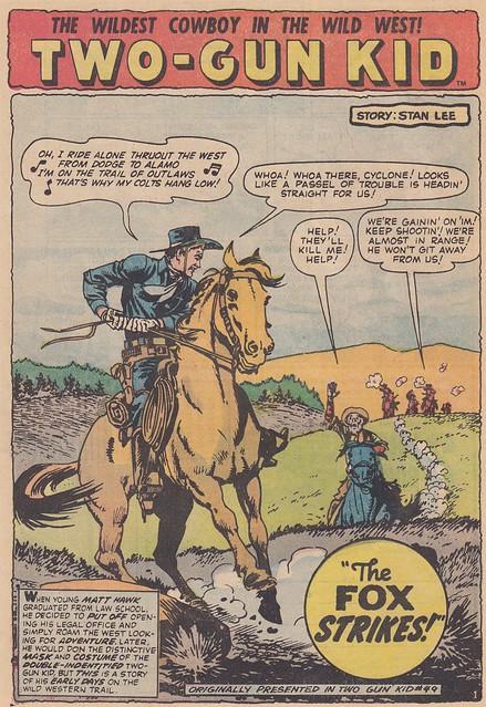 Mighty Marvel Western 30 / Splash Panel