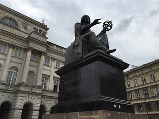 Copernicus statue in Warsaw | by Rachel Cotterill