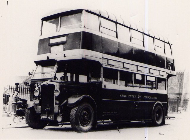 Manchester Crossley 457. AND 93.