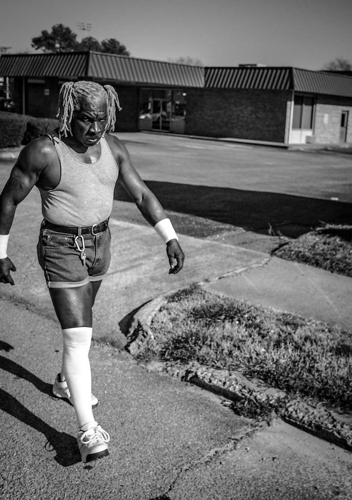 Street wrestler.