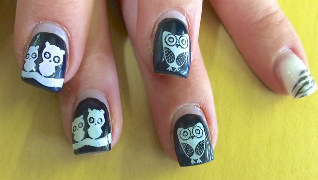 Owls on Nails