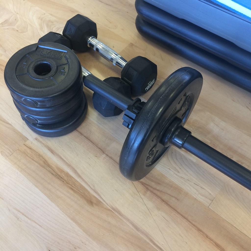 Bodypump equipment
