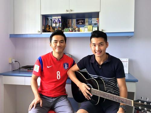 1 to 1 guitar lessons Singapore Kok Kian