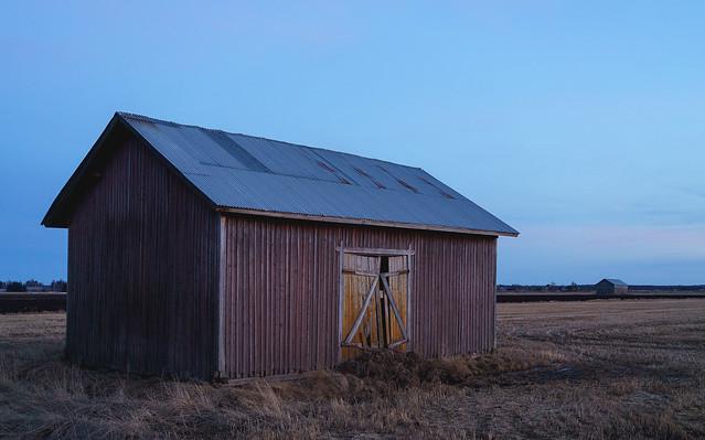 Blue Barnscape