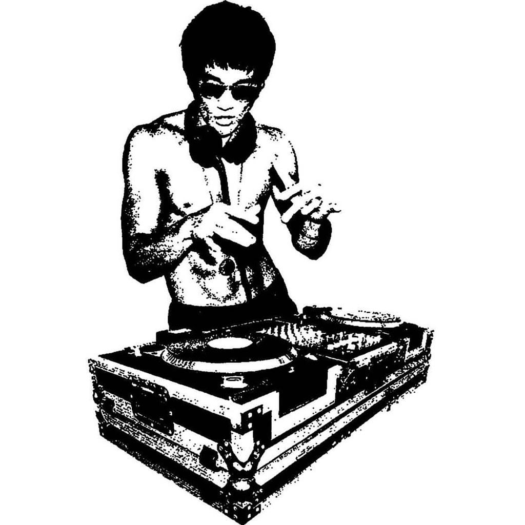 website for discount exclusive deals matching in colour DJ Bruce Lee #brucelee #dj #turntable #martialarts #legend ...