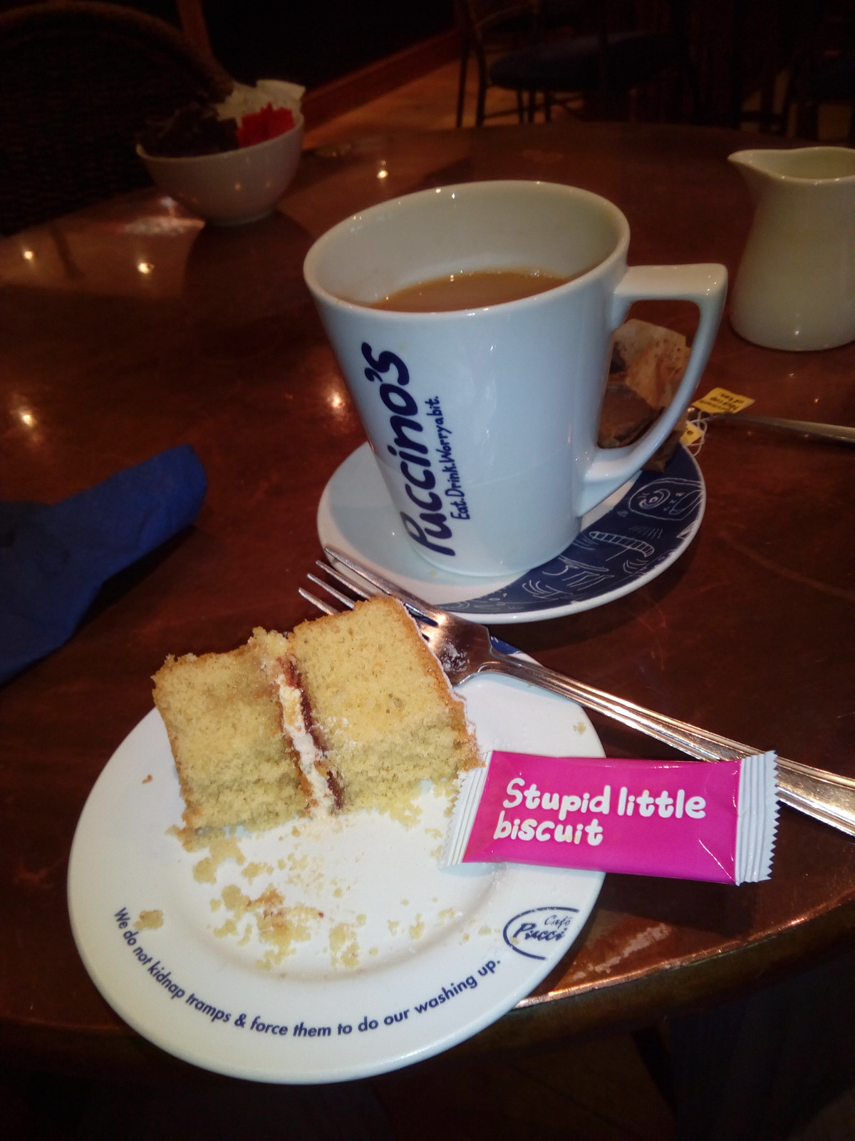 Puccino's Maidenhead Pukka Cuppa and a bit of humour