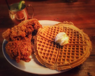 Chicken & Waffles   by vwcampin