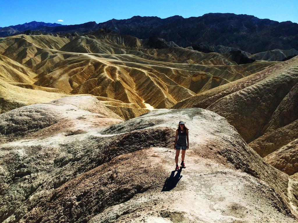 Travel Tips For California: Zabriskie Point, Death Valley National Park, CA, USA