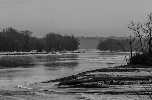 winter bw ice river teleconverter winterlandscape tc20eii mohawkriver amsterdamny nikkor70200mmf28gafsvr nikond7000 dajewski gdajewski