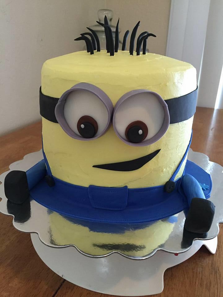 Minion Cake By Toetu Norther Utah Birthdaycakes4free