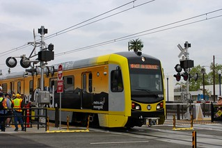 Rediscover Gold wrapped 1010 departing Azusa Downtown Station | by Oran Viriyincy