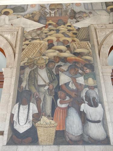 Ciudad Mexico - Secretaria de Educacion Publica - Diego Rivera murals - 2