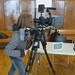 Intervenant sur le forum des métiers de l'Audiovisuel et du Cinéma organisé par les amis de l'Eldo - Dijon, 2012