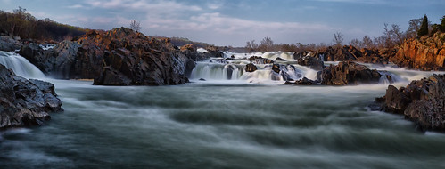 wild motion water rock river evening virginia dc greatfalls maryland falls rapids greatfallsnationalpark leefilters bigstopper