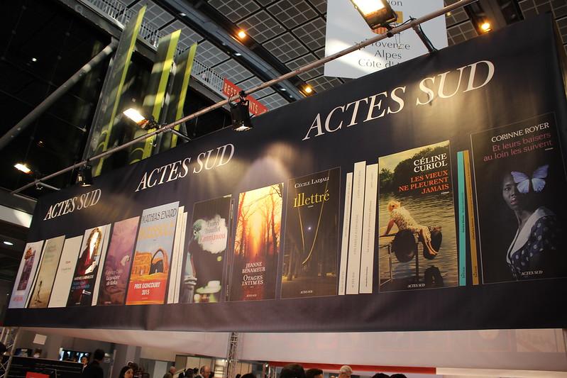 Actes Sud - Livre Paris 2016
