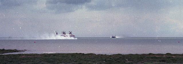 Hoverlloyd Ferry - 1979 - Ramsgate, Pegwell Bay, England