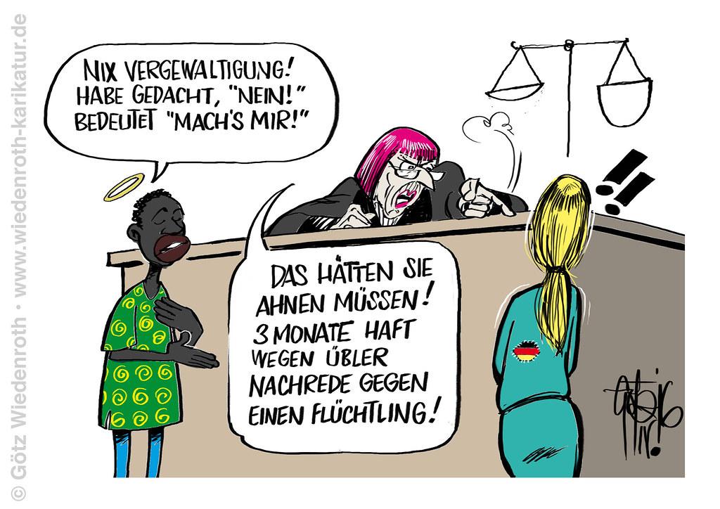 Vergewaltigt von deutschunkundigen Migranten? Vorsicht mit Strafanzeigen! -  a photo on Flickriver