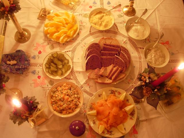 Stół Wigilyjny - Wesołych Świąt!