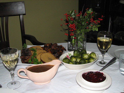 Vegan Christmas Dinner | by veganbackpacker