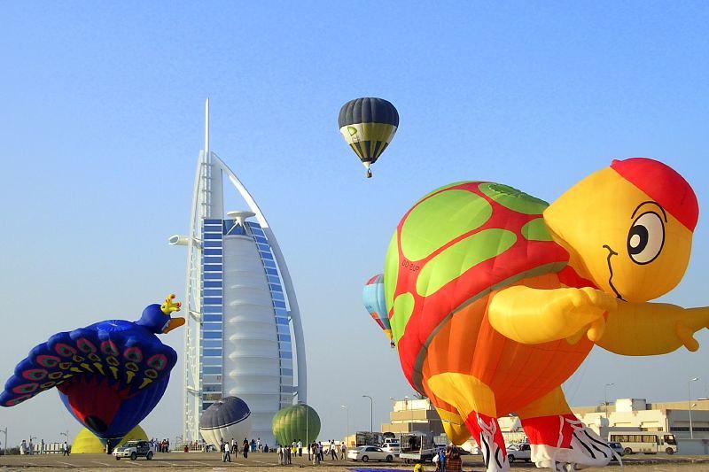 Hot Air Ballon Dubai