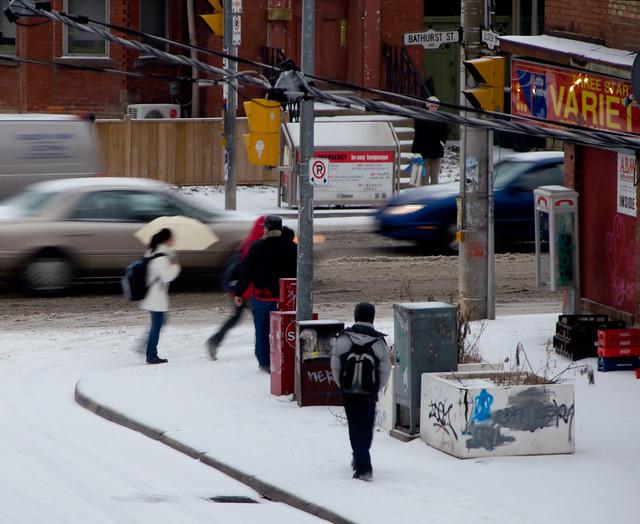 Snow (1): moving