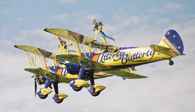 Wing Walkers at Sywell Air Show