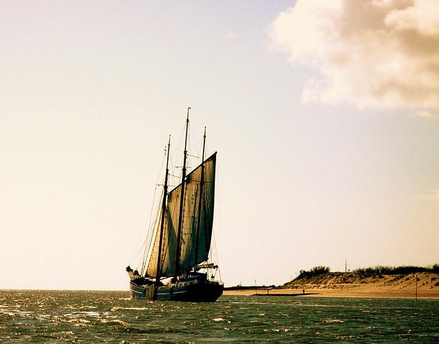 Vlieland to starboard