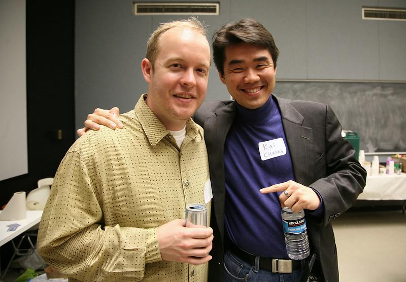 Drew Curtis and Kai Chang