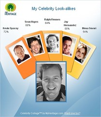 My celebrity look-alikes (on a sunday)